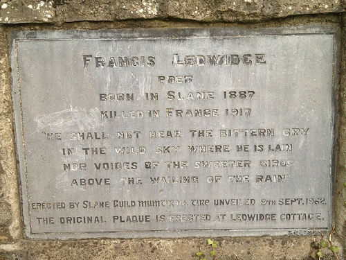 Francis Ledwidge photo