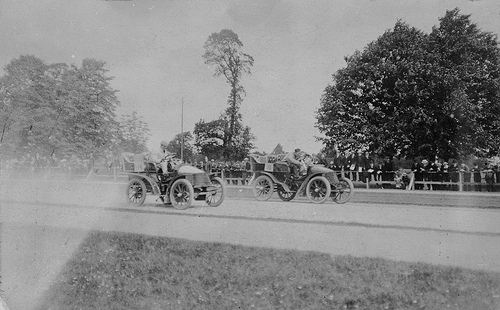 Phoenix Park Car Race 1903 photo