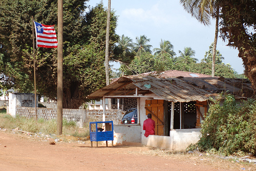 Liberian flag photo