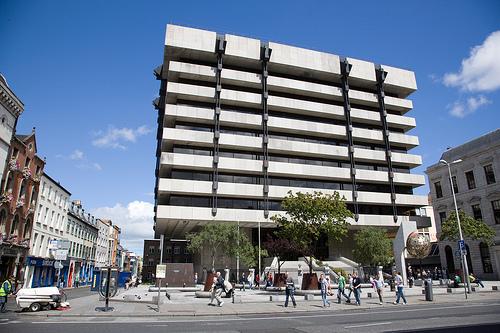 Central Bank Dame Street photo