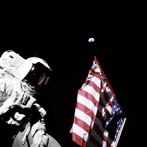 Apollo 17 photo