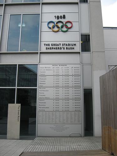 1908 London Olympics photo