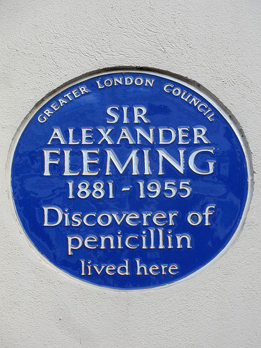 Sir Alexander Fleming photo