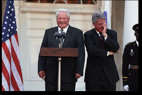 President Yeltsin photo